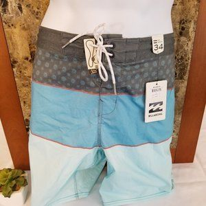 Billabong Men's Tri Bong Lt OTG Boardshort